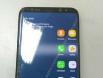 Samsung Galaxy S8 на фото: нет логотипа, тонкие рамки и загнутые края