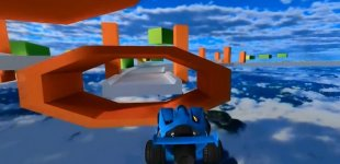 Jet Car Stunts. Видео #1