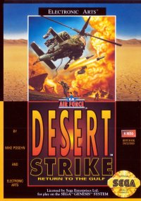 Обложка Desert Strike: Return to the Gulf