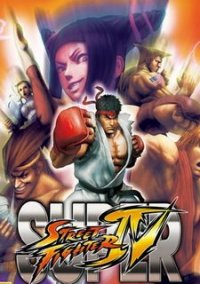Обложка Super Street Fighter 4