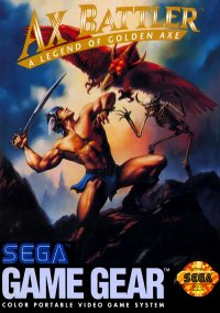 Обложка Ax Battler: A Legend of Golden Axe