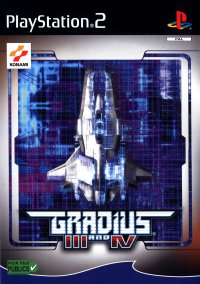 Обложка Gradius III and IV