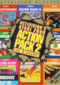 Обложка Activision's Atari 2600 Action Pack 2