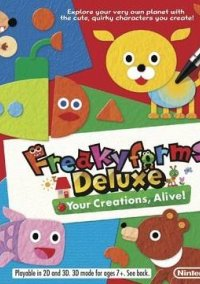 Обложка Freakyforms Deluxe: Your Creations, Alive!