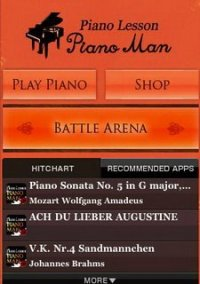 Piano Lesson PianoMan – фото обложки игры