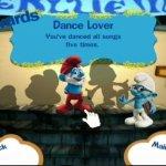 Скриншот The Smurfs Dance Party – Изображение 2
