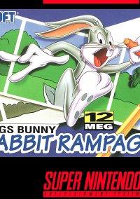Обложка Bugs Bunny Rabbit Rampage