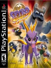 Обложка Spyro 3: Year of the Dragon