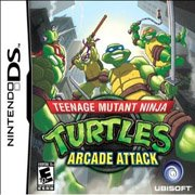 Обложка Teenage Mutant Ninja Turtles: Arcade Attack