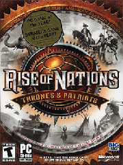 Обложка Rise of Nations: Thrones and Patriots
