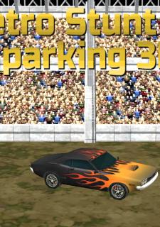 Retro Stunt Car Parking 3D
