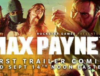 Анонсирован первый трейлер Max Payne 3