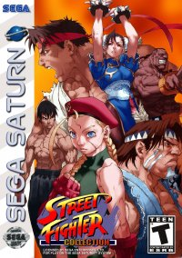 Обложка Street Fighter Collection