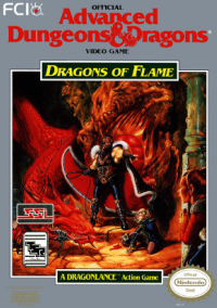 Обложка Advanced Dungeons & Dragons: Dragons of Flame