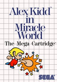 Обложка Alex Kidd in Miracle World