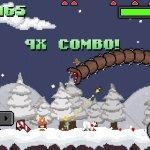 Скриншот Super Mega Worm Vs. Santa – Изображение 2