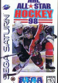 Обложка NHL All-Star Hockey '98