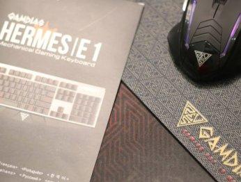 Обзор комплекта периферии Gamdias Hermes E1 Gaming Combo