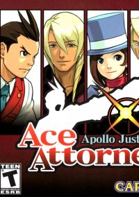 Обложка Apollo Justice: Ace Attorney