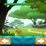Скриншот Save the Little Snail Venture - A Falling Rock Avoiding Game – Изображение 3