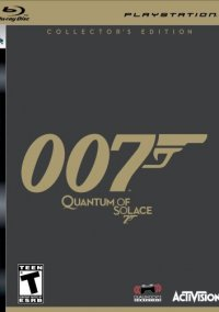 Обложка James Bond 007: Quantum of Solace -- Collector's Edition
