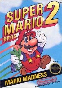 Обложка Super Mario Bros. 2