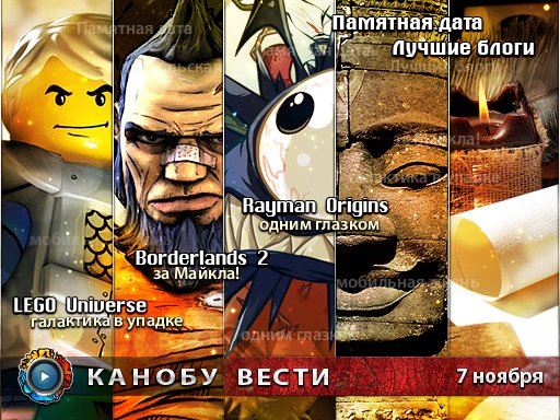 Канобу-вести (07.11.2011)
