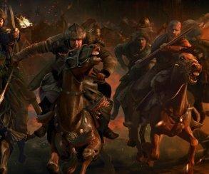 Белый конь ведет армию в атаку в новом трейлере Total War: Attila