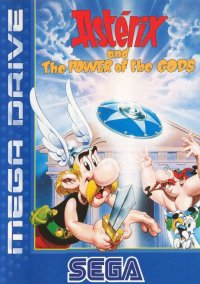 Обложка Asterix and the Power of The Gods