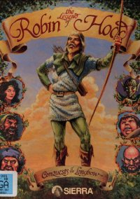 Обложка Conquests of the Longbow: The Legend of Robin Hood
