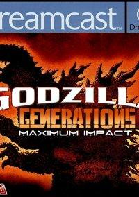 Обложка Godzilla Generations Maxium Impact