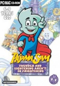 Обложка Pajama Sam 2: Thunder and Lightning Aren't So Frightening