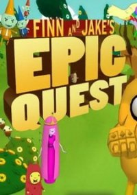 Обложка Finn and Jake's Epic Quest