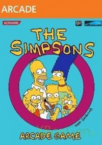 Обложка The Simpsons Arcade Game