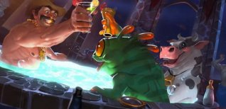 Hearthstone: Heroes of Warcraft. Вечеринка в Каражане