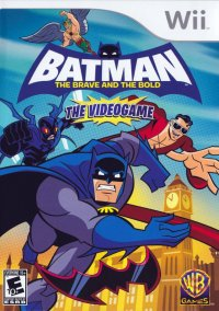 Обложка Batman: The Brave and the Bold - The Videogame