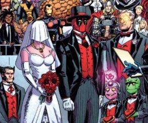 Любовь— эторак. В России издали комикс о свадьбе Дэдпула
