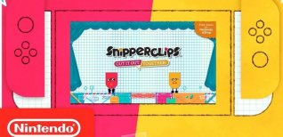 Snipperclips - Cut it out, together!. Официальный трейлер