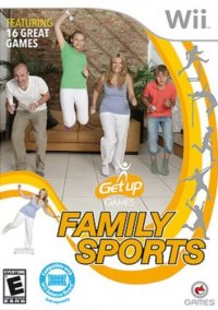 Обложка Get Up: Family Sports