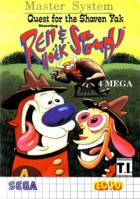 Quest for the Shaven Yak Starring Ren Hoek & Stimpy – фото обложки игры