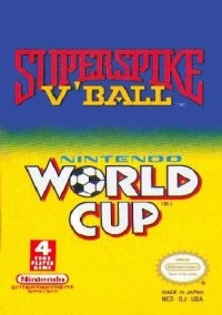 Обложка 2-in-1 Super Spike V-Ball & Nintendo World Cup