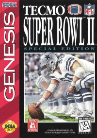 Обложка Tecmo Super Bowl II