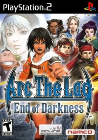 Обложка Arc the Lad: End of Darkness