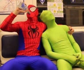 ВПитере— пить иснимать короткометражки про пьяного Человека-паука