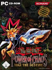Обложка Yu-Gi-Oh! Power of Chaos: Yugi the Destiny