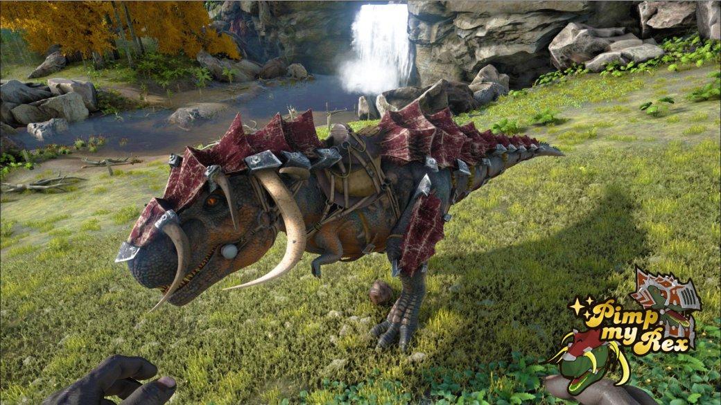 Прокаченный тирекс в Ark: Survival Evolved выглядит круто - Изображение 2
