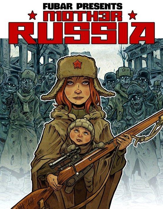 Автор комикса о зомби в Сталинграде: «Россия и США невероятно близки» - Изображение 3