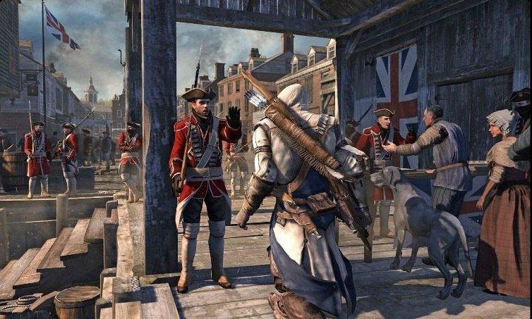 Первые кадры Assassin's Creed III были выложены в Сеть. - Изображение 1