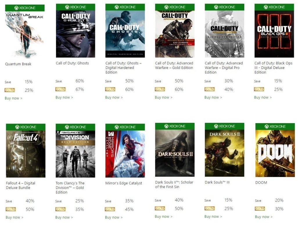 В Xbox Store стартовала большая летняя распродажа - Изображение 1