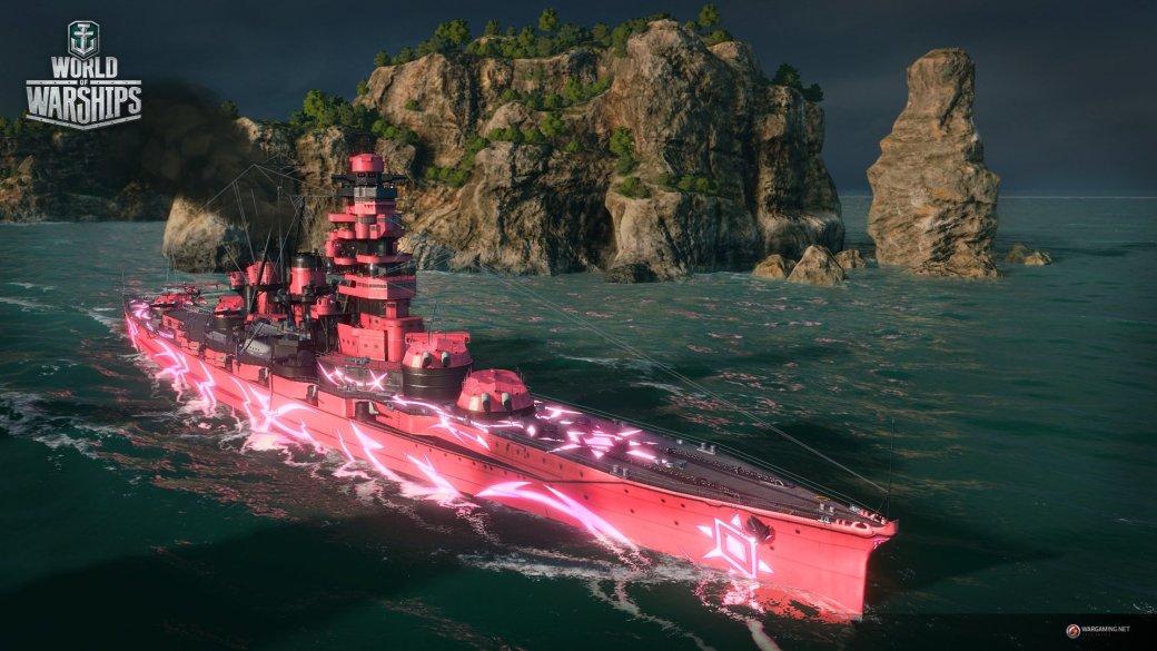 В World of Warships появится аниме-режим по Arpeggio of Blue Steel - Изображение 1